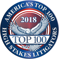 Mark B. Bullman, America's Top 100 High Stakes Litigators® for 2018